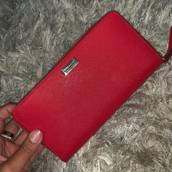 kate spade Handbags - Red Kate Spade Wallet
